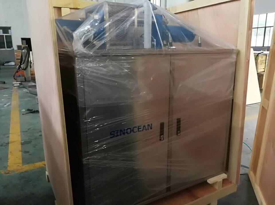 Sinocean Dry Ice Block Machine JHK100 delivered to Makati City, Philippines.