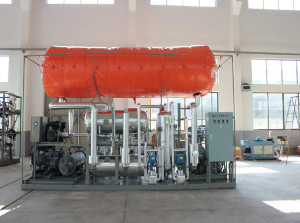 Working Condition for 300kg/hr CO2 Recovery Plant