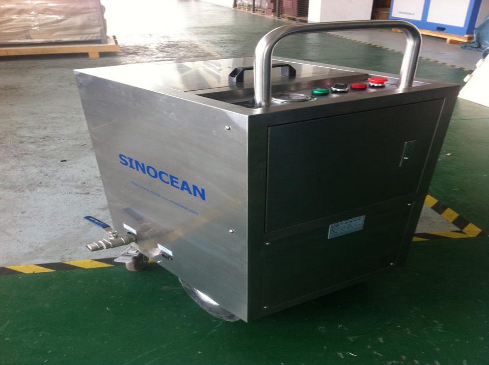 Specifications of Dry Ice Blasting Machine JHQ750