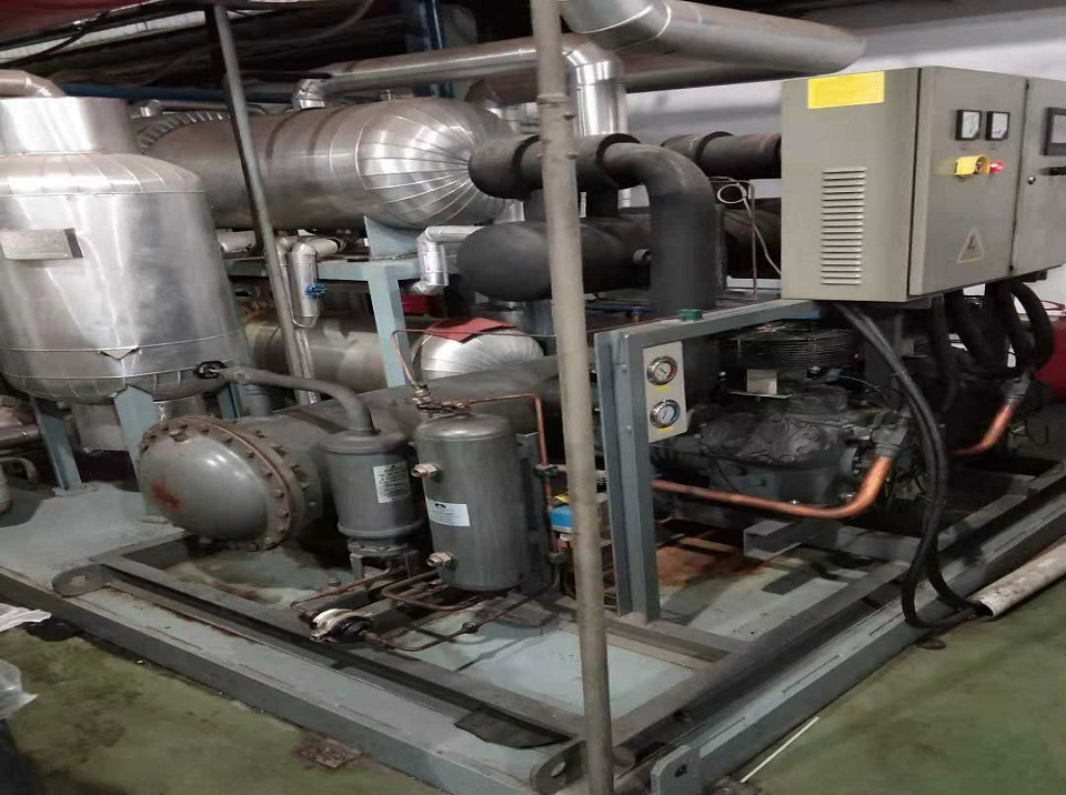 1000kg/hr co2 revert recovery system installed in Moscow